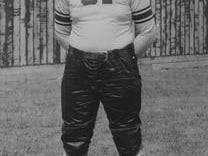 Dallas Marvil, who played on the Laurel High School football team in the 1920s, later became a collegiate All-American at Northwestern University in 1931.