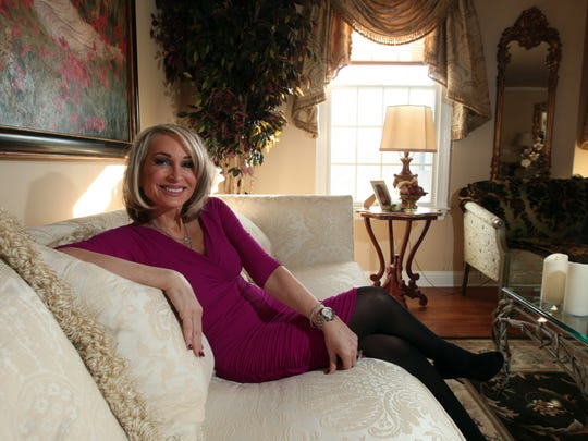 At Home With Real Housewife of New Jersey, Kim DePaola. January 9, 2015. Wayne, N.J. Bob Karp/Staff Photographer.