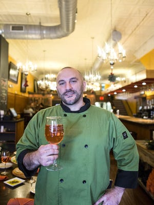 Chef Anthony Cerrato at Strada Italiano, open for a special Thanksgiving dinner this year.