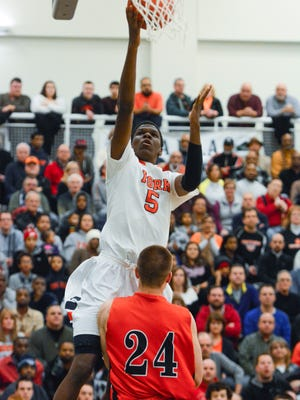 York High's Kris Johnson will be one of three Bearcats to play in Sunday's York-Adams League Senior All-Star Game. John A. Pavoncello - jpavoncello@yorkdispatch.com