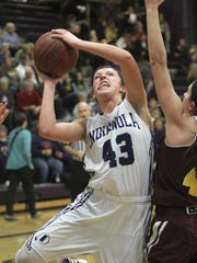 Indianola sophomore Grace Berg puts up a shot against Ankeny. Class 5-A fifth-ranked Indianola beat Ankeny 52-47 in Indianola on Dec. 15.