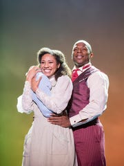 "Leslie Jackson and Chris Sams star in ""Ragtime"" at the Hershey Theatre."