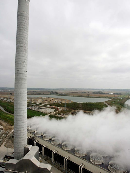 MIDAMERICAN ENERGY COAL PLANT IN COUNCIL BLUFFS