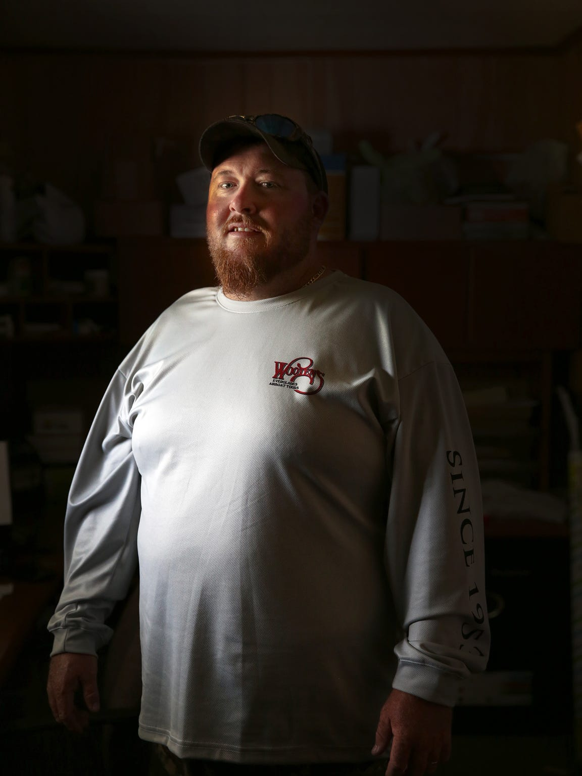Carl Nicholson manages Wooten's Everglades Airboat