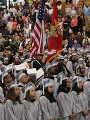 Union County College commencement exercises May 24, 2017.