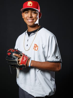 Jeremiah Estrada is selected as one of The Desert Sun's top spring athletes, Friday, June 9, 2017.