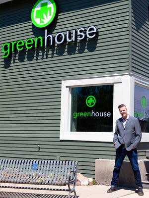 Jerry Millen owns Greenhouse, Oakland County's first medical marijuana dispensary.