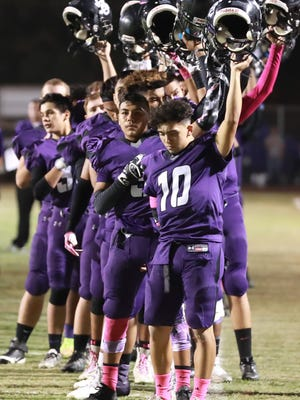 Mission Oak hosts Monache during its 2016 Homecoming Football Game at Bob Mathias Stadium on Oct 14th 2016