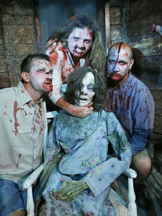 LAF Haunted attractions