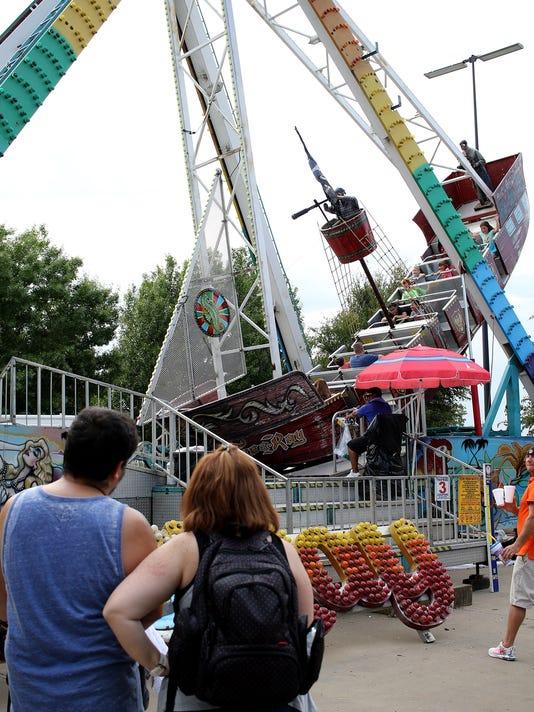 Texas Oklahoma Fair final day