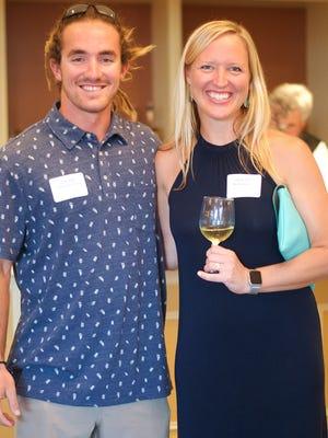 Jack and Suzie Duff, Blue Business finalists, representing The Scuba Club