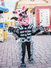 Show off your creative Halloween costume at lots of