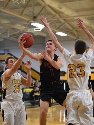 Tuscola defeated Rosman 89-48 in the Holiday Classic basketball tournament at Tuscola December 29, 2017.