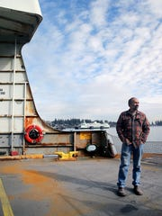 Dave Knutsen is the chief engineer for the aging MV Hyak.