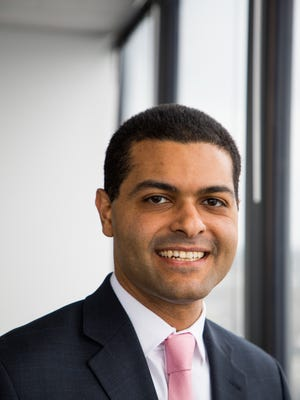 Shereef Elnahal, a radiation oncologist, has been nominated by Gov. Phil Murphy to be New Jersey Health Commissioner. The Senate Judiciary recommended approval on March 8, 2018, and the full Senate will act on his confirmation on March 26.