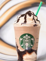 The new Starbucks Triple Mocha Frappuccino.