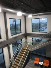 Downing Construction's new home base in Indianola.