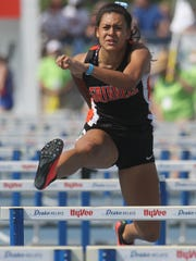 Grinnell senior Sienna Durr placed sixth in the 100-meter