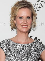 "Cynthia Nixon, the ""Sex and the City"" actress who is"