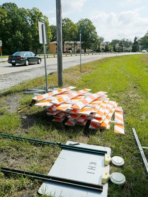 Reconstruction of Happy Hollow Road was scheduled to begin in September. But Indiana Department of Transportation pulled funding for the project. City and INDOT officials have reached an agreement and work begins in earnest in the spring.