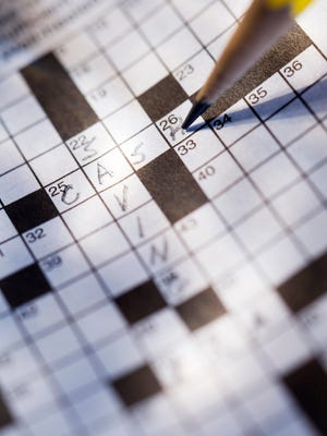 Financial crossword puzzle.
