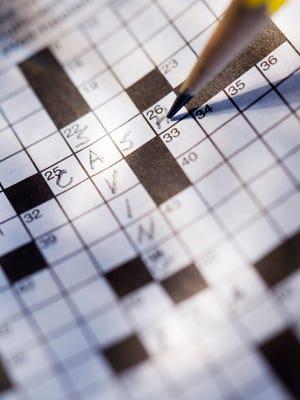 Financial crossword puzzle.