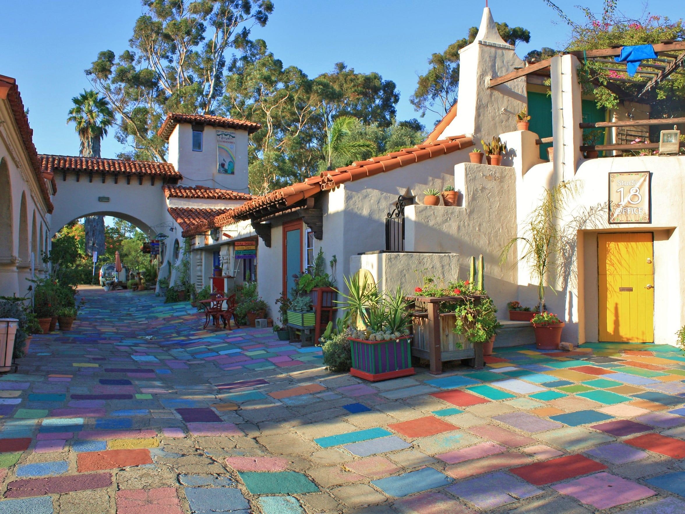 Spanish Art Village