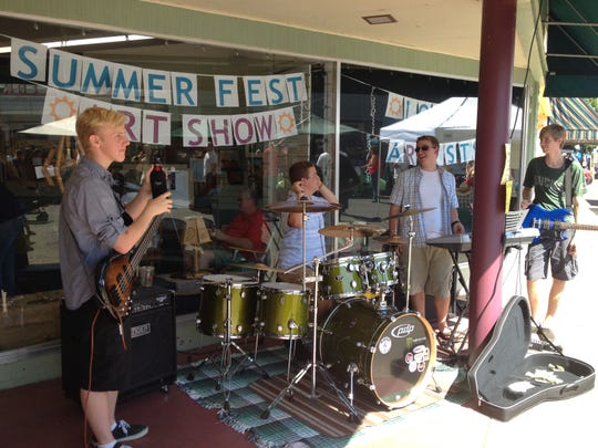 Out Break on the main drag during the 19th year of the Santiam Summerfest. The event, which takes over downtown Stayton, and then some, will be celebrated on July 25 this year.
