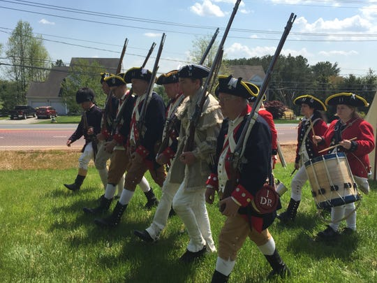 The popular 1st Delaware Regiment joined Sunday's 2015 Archaeology & Heritage Festival at Iron Hill Museum, one of many colonial-era aspects of the festival's theme of life in 1777.