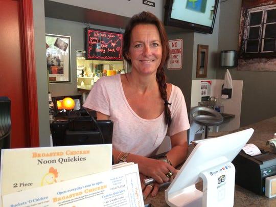 Bridgit Stone-Budd owns The Pecking Order on Sanibel.
