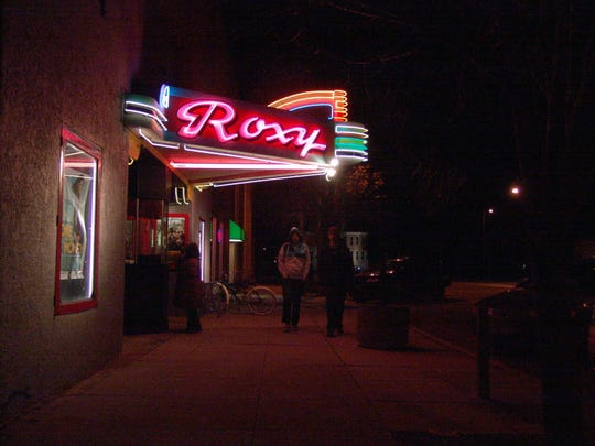 Choteau's historic Roxy Theater.