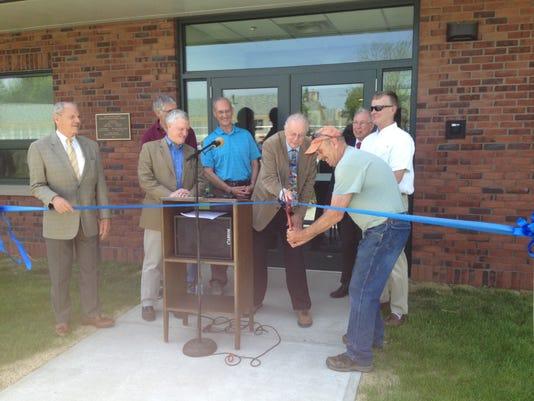 Williston cuts ribbon at public works
