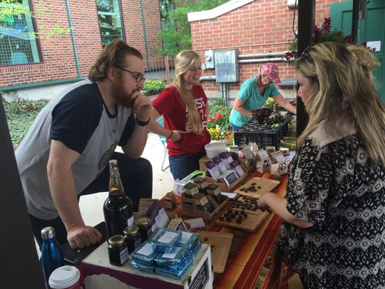 Mindo Chocolate Makers out of Dexter can be found at Ann Arbor's farmer's market and other sellers, such as Plum Markets, Sandhill Crane Vineyard, Sweetwater's Coffee and Tea and Whole Foods Markets.