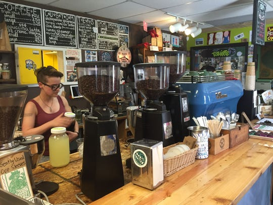 "RoosRoast is ""kind of like a big club house,"" according to Barista Katie Wright. RoosRoast is based at 1155 Rosewood St."