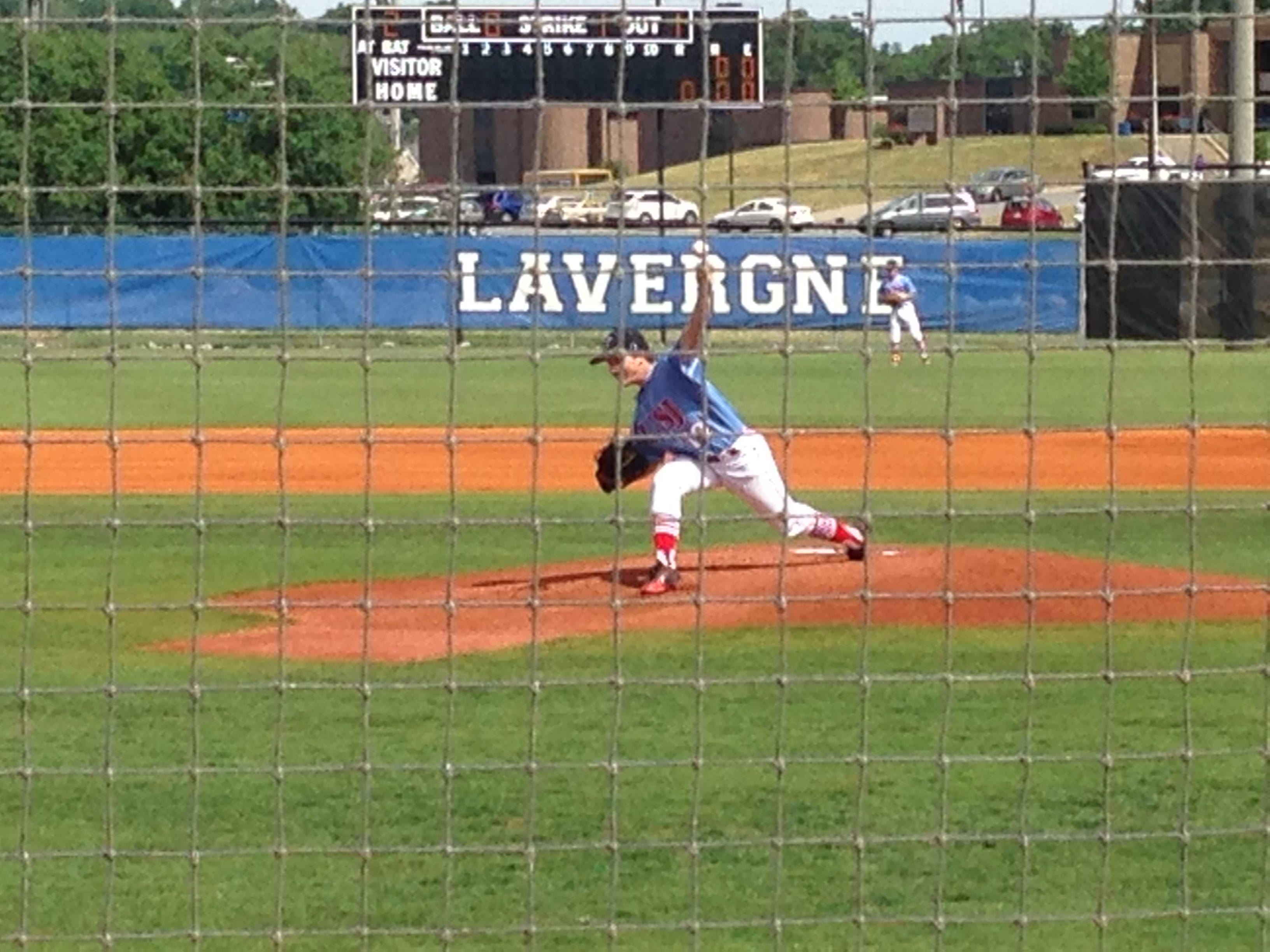 USJ's Ben Brauss started Wednesday's state tournament game against Evangelical Christian School.
