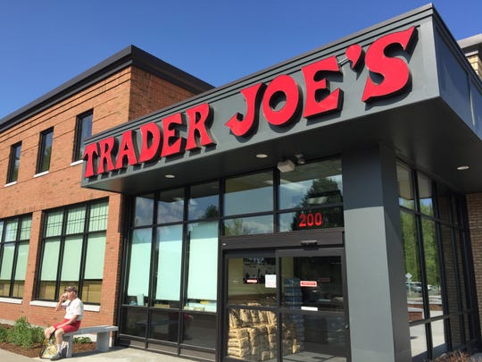 Trader Joe's storefront on Dorset Street in South Burlington.
