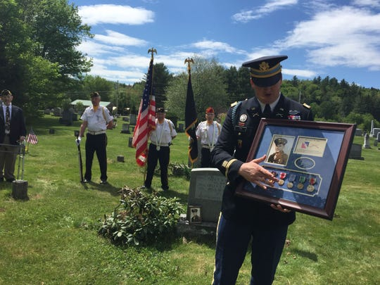 Zachariah Fike, the founder of Purple Hearts Reunited,
