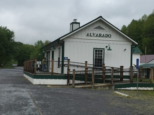 Entering the community of Alvarado on the Virginia