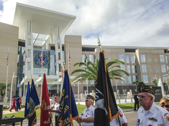 Orlando VA Medical Center at Lake Nona dedication.