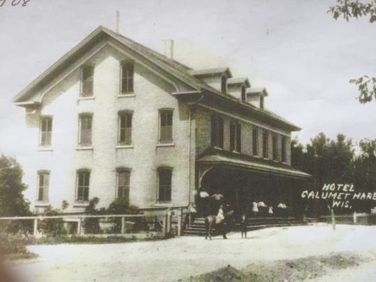 Historical photo of the building that houses Big Al