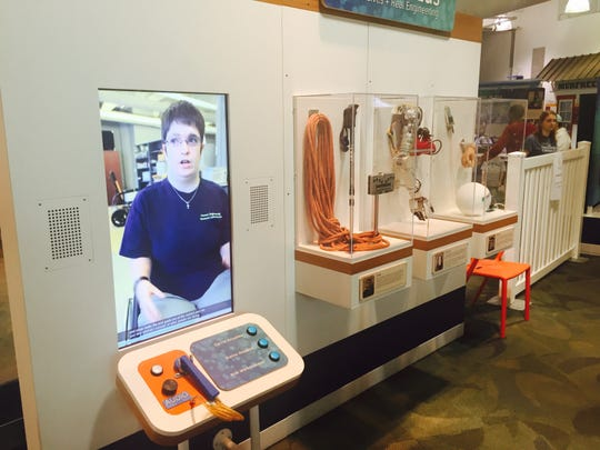 Discovery Center at Murfree Spring is the site of the traveling exhibit, 'Human Plus: Real Lives + Real Engineering,' which allows visitors to explore how technology can change everyday living.