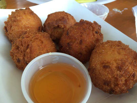 These look like hush puppies, but they're actually