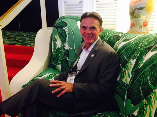 Macomb County Executive Mark Hackel