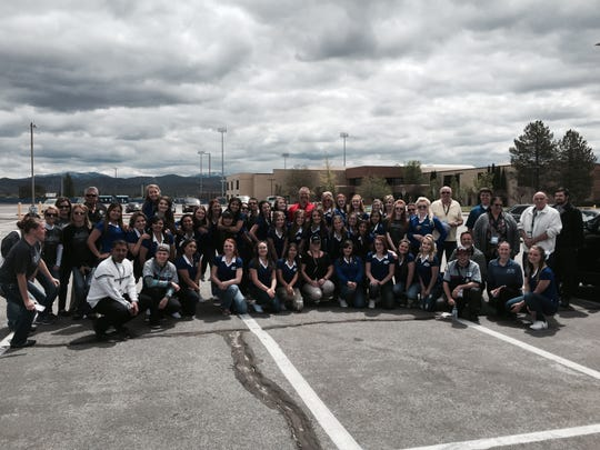More than 350 drivers participated in the fundraiser at Dick Campagni's Capital Ford.