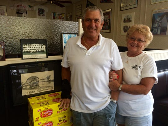 Lou and Kathleen Fine own Philly Junction in Fort Myers, which serves more than 900 of Lou's classic cheese steaks each week.