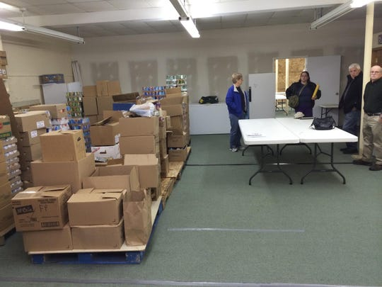 Interfaith Food Pantry, currently located at 2820 Post Road in Plover, has experienced about a 10 to 15 percent increase annually in food distribution over the past five years.