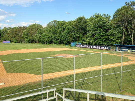 Governor Livingston High School baseball field