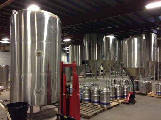 Old Nation's production facility occupies 22,000 square feet and is capable of yielding 10,000 barrels of craft beer a year.