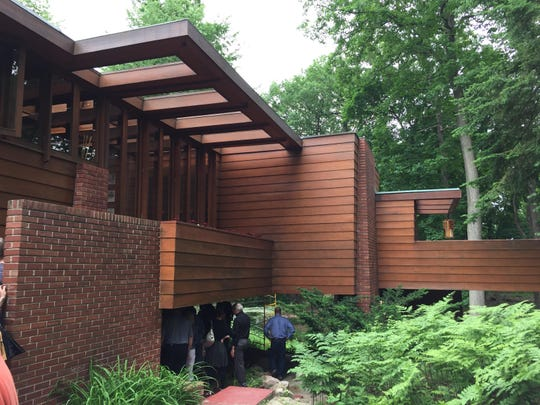 The Frank Lloyd Wright-designed Affleck House in Bloomfield HIlls is owned by Lawrence Technological University.