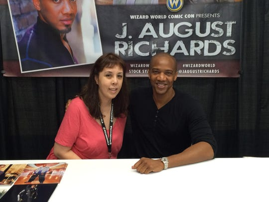 Jacqui Day and J. August Richards.